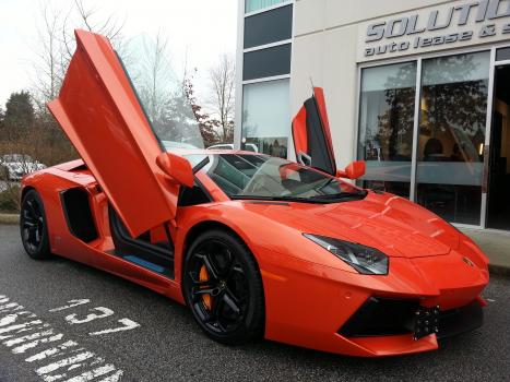 Lamborghini lease takeover