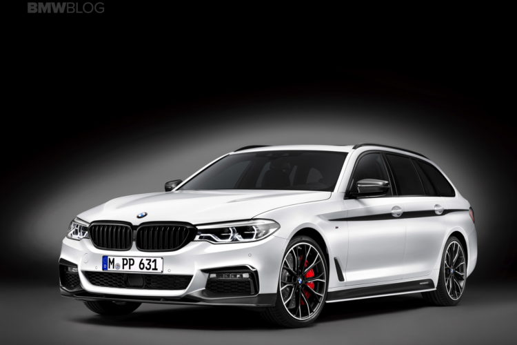 bmw m performance parts for the new bmw 5 series touring. Black Bedroom Furniture Sets. Home Design Ideas