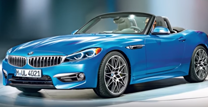 Bmw Z4 Concept Soon To Be Revealed Production Version On