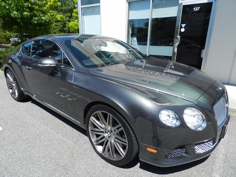 2014 Bentley Continental GT Speed W12